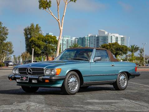 1989 Mercedes-Benz 560-Class 560 SL for sale at Chequered Flag International in Marina Del Rey CA