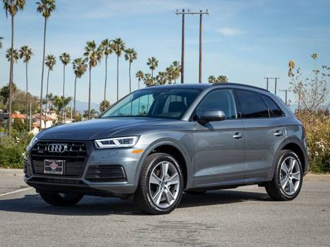 2020 Audi Q5 2.0T quattro Premium Plus for sale at Chequered Flag International in Marina Del Rey CA
