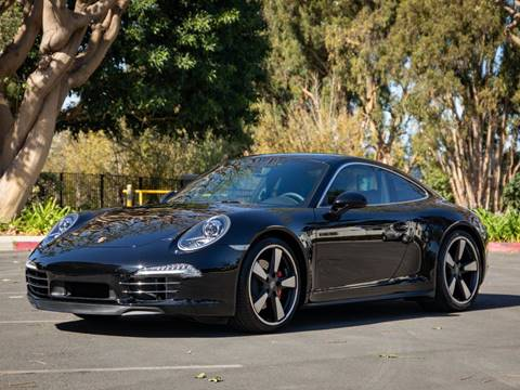 2014 Porsche 911 Carrera S for sale at Chequered Flag International in Marina Del Rey CA