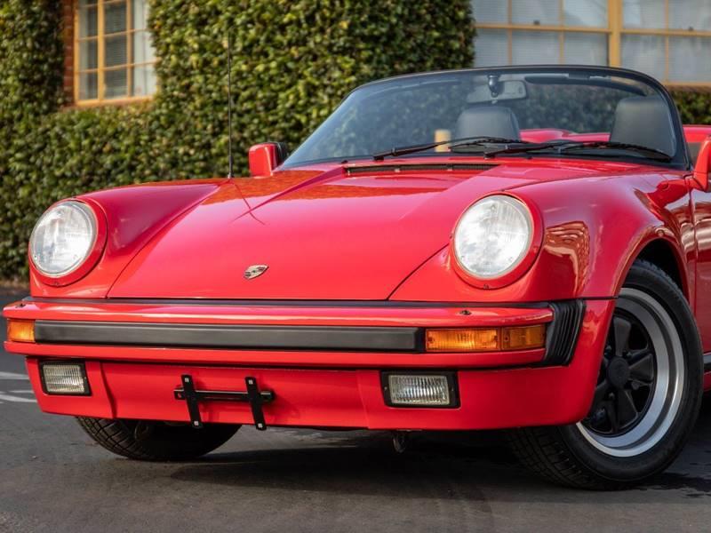 1989 Porsche 911 Carrera Speedster (image 3)