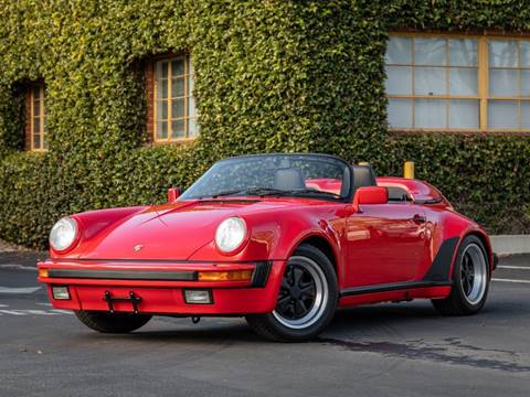 1989 Porsche 911 Carrera Speedster for sale at Chequered Flag International in Marina Del Rey CA