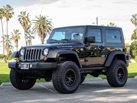 2010 Jeep Wrangler Rubicon for sale at Chequered Flag International in Marina Del Rey CA