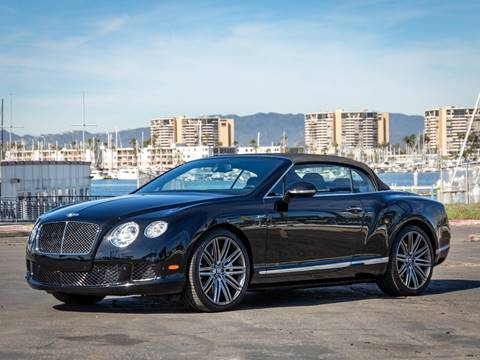 2014 Bentley Continental GT Speed for sale at Chequered Flag International in Marina Del Rey CA