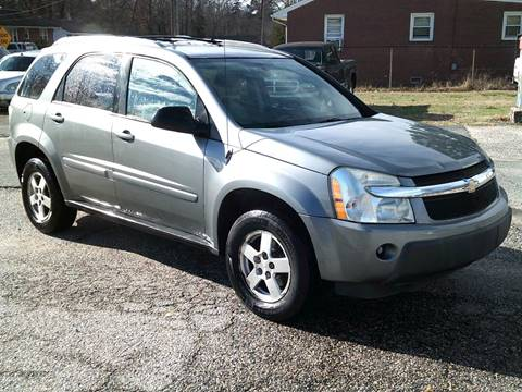 2005 Chevrolet Equinox LT for sale at Wamsley's Auto Sales in Colonial Heights VA