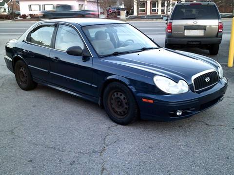 2004 Hyundai Sonata for sale at Wamsley's Auto Sales in Colonial Heights VA