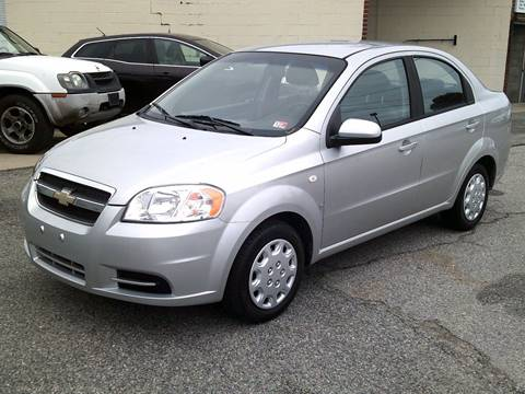 2007 Chevrolet Aveo LS for sale at Wamsley's Auto Sales in Colonial Heights VA