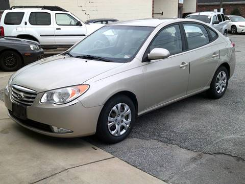 2010 Hyundai Elantra GLS for sale at Wamsley's Auto Sales in Colonial Heights VA