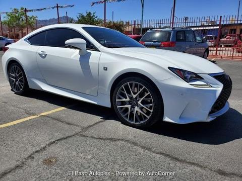 Lexus El Paso >> Used Lexus Rc 350 For Sale In El Paso Tx Carsforsale Com