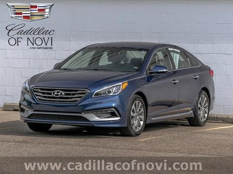 2015 Hyundai Sonata for sale in Novi, MI
