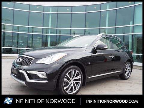 2016 Infiniti QX50 for sale in Norwood, MA
