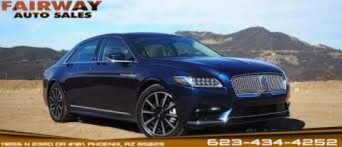 2017 Lincoln Continental for sale in Phoenix, AZ