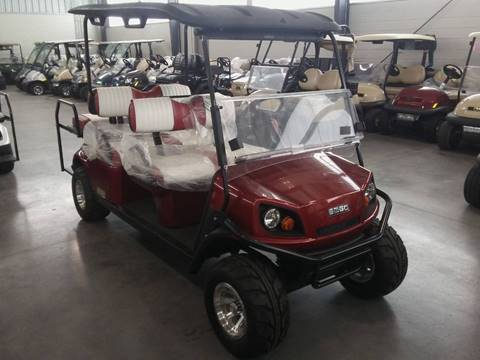 2018 E-Z-GO EXPRESS S6 GAS for sale in Lakeland, FL
