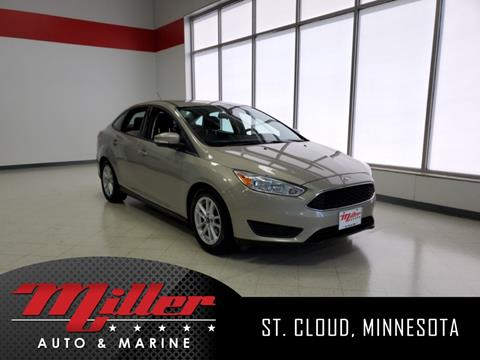 Used Cars Mn >> 2016 Ford Focus For Sale In Saint Cloud Mn