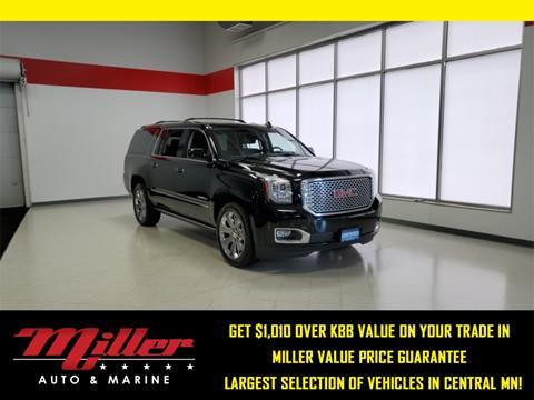 2016 GMC Yukon XL for sale in Willmar, MN