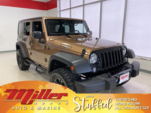 2015 Jeep Wrangler Unlimited for sale in Saint Cloud, MN