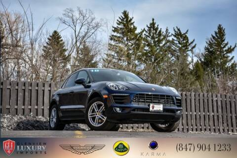 2018 Porsche Macan for sale at Glenview Luxury Imports in Glenview IL