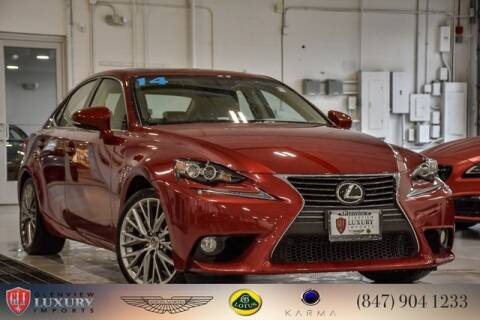 2014 Lexus IS 250 for sale at Glenview Luxury Imports in Glenview IL