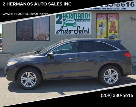 Modesto Auto Sales >> Acura Rdx For Sale In Modesto Ca 2 Hermanos Auto Sales Inc