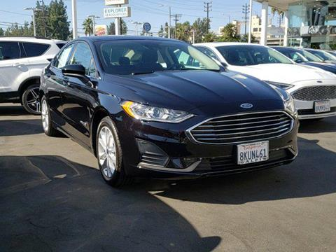 2019 Ford Fusion Hybrid for sale in Van Nuys, CA