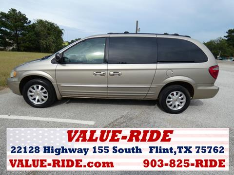 2003 Chrysler Town and Country for sale in Flint, TX