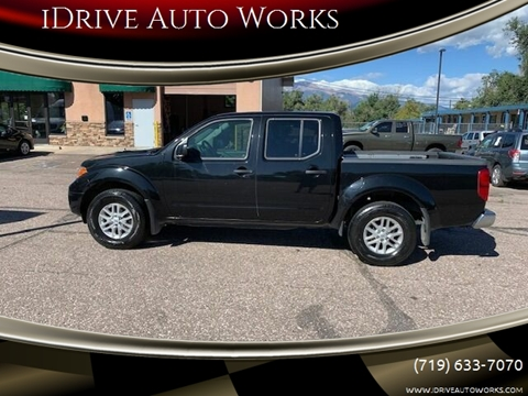 2018 Nissan Frontier SV for sale at iDrive Auto Works in Colorado Springs CO
