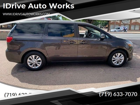 2016 Kia Sedona LX for sale at iDrive Auto Works in Colorado Springs CO