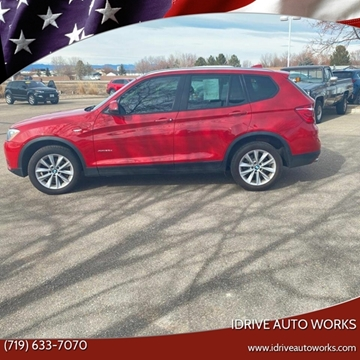 2015 BMW X3 xDrive28d for sale at iDrive Auto Works in Colorado Springs CO