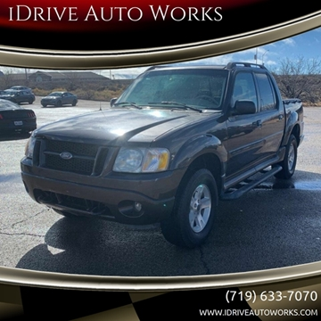 2005 Ford Explorer Sport Trac XLT for sale at iDrive Auto Works in Colorado Springs CO
