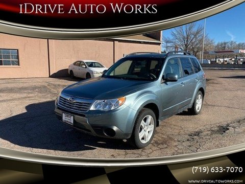 2010 Subaru Forester 2.5X Premium for sale at iDrive Auto Works in Colorado Springs CO