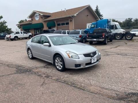 2007 Nissan Maxima for sale at iDrive Auto Works in Colorado Springs CO
