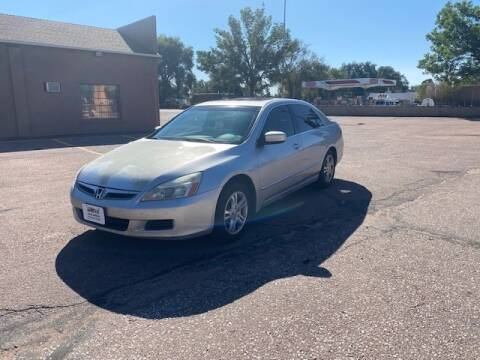 2007 Honda Accord for sale at iDrive Auto Works in Colorado Springs CO