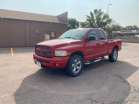 2004 Dodge Ram Pickup 1500 for sale at iDrive Auto Works in Colorado Springs CO