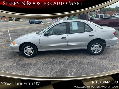 2002 Chevrolet Cavalier for sale in Springfield, TN