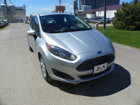 2014 Ford Fiesta SE for sale at J & S Auto Sales in Thompson ND