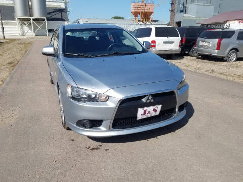 2012 Mitsubishi Lancer for sale at J & S Auto Sales in Thompson ND