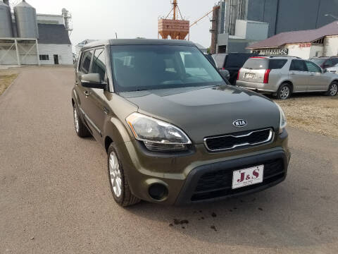 2012 Kia Soul for sale at J & S Auto Sales in Thompson ND