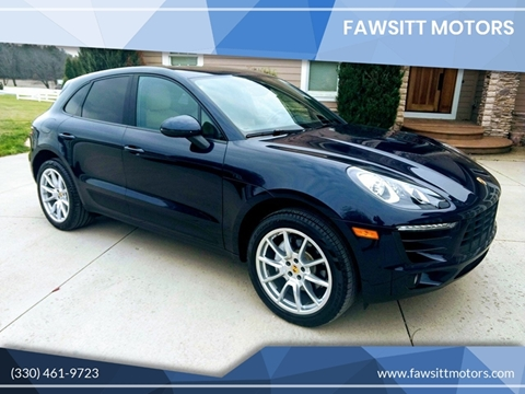 2017 Porsche Macan for sale in Medina, OH