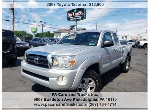 2007 Toyota Tacoma for sale in Philadelphia, PA