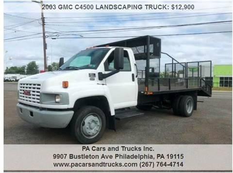 2003 GMC C4500 for sale in Philadelphia, PA