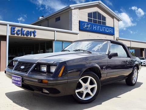 1984 Ford Mustang for sale in Denton, TX