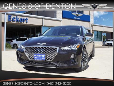 2019 Genesis G70 for sale in Denton, TX