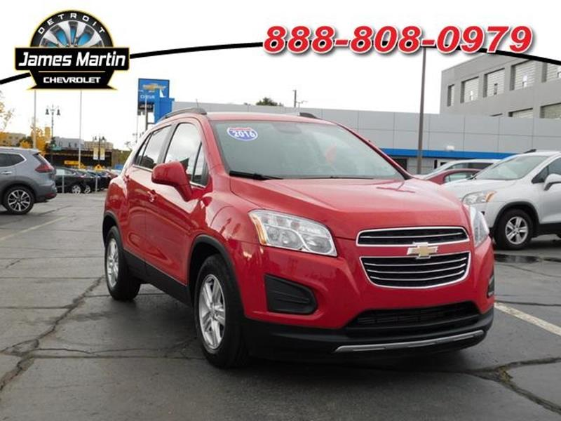 2016 Chevrolet Trax car for sale in Detroit