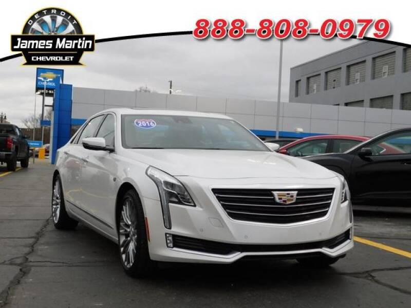 2016 Cadillac Ct6 car for sale in Detroit