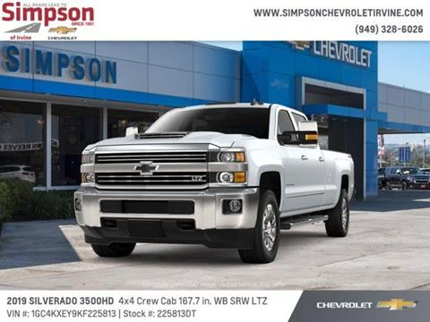 2019 Chevrolet Silverado 3500HD for sale in Irvine, CA