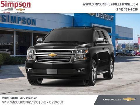 2019 Chevrolet Tahoe for sale in Irvine, CA
