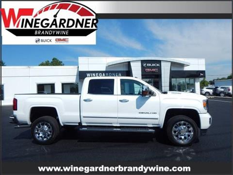 2017 GMC Sierra 2500HD for sale in Huntingtown, MD