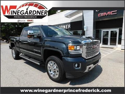 2019 GMC Sierra 2500HD for sale in Huntingtown, MD