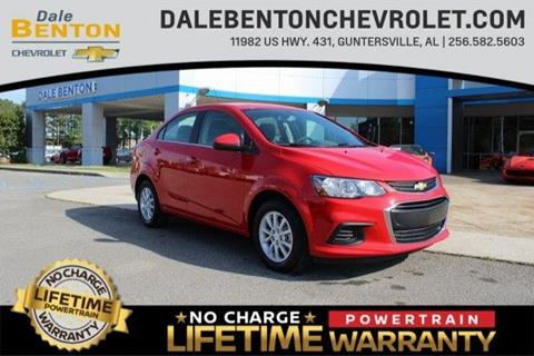 2019 Chevrolet Sonic for sale in Guntersville, AL