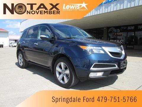 2012 Acura MDX for sale in Springdale, AR