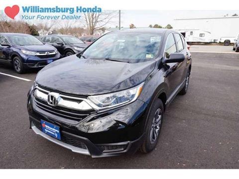 2018 Honda CR-V for sale in Williamsburg, VA
